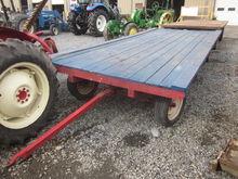 Economy 7x16 flat wagon