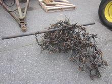 Black 6' chain harrow