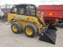 John Deere 250 II skid loader