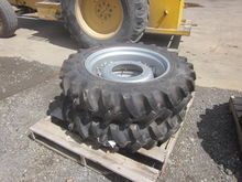 pair of 9.5-24 tires & rims