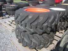 Kubota pair of R4 tires & rims