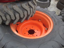 Kubota R4 tires & rims