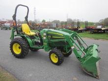 John Deere 4115 4x4 loader