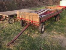 Lanco 6x12 flat bed wagon