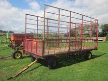 Pequea hay rack wagon