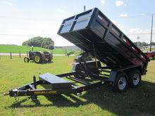 Pequea C2500 12' dump trailer