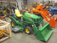 John Deere 1026R 4x4 loader & m
