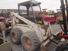 Bobcat 825 skid loader