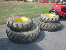 John Deere set of 4 ag tires &