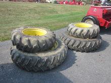 John Deere set of 4 ag tires &
