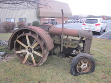 Fordson lawn ornament tractor