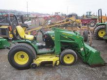 John Deere 4100 4x4 loader & mo