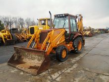 Case 580SK Tractor Loader Backh