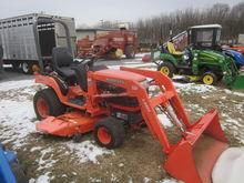 Kubota BX2230 4x4 loader & mowe