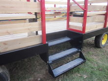 Stoltzfus 8.5x18 hay ride wagon
