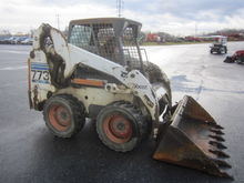 Bobcat 773 skid loader