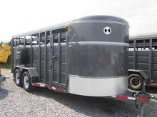 Corn Pro SB18-7S stock trailer