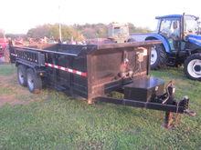 Griffin 16' dump trailer