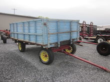 New Holland flat bed wagon