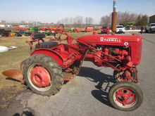 Farmall Super A with plow