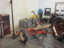 New Idea 7' pull sickle mower