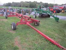 Pequea 606 25' header cart