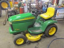 John Deere GT225 garden tractor