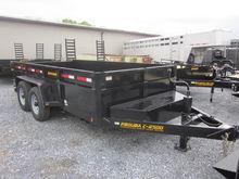 Pequea C2500 dump trailer