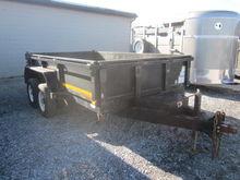 2004 12' EZ Dump trailer
