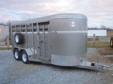 Corn Pro 16' livestock trailer