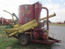 New Holland 355 grinder mixer