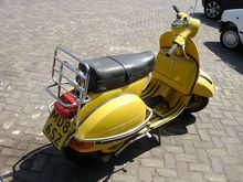 Vespa old-fashioned scooter