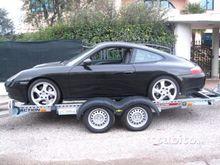 Trailer car transport type pors