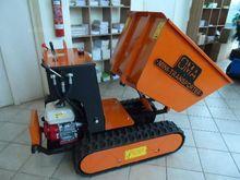 hydraulic wheelbarrow