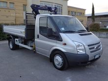 Ford Transit 460 tipper and cra