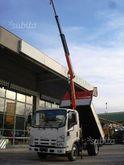 New Isuzu L35 truck with crane