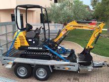 Trolley mini excavators forklif