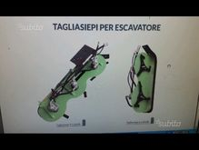Hedge trimmers for mini-excavat