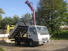 MITSUBISHI truck cranes and tip