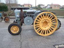 Antique tractor Landini 30 semi