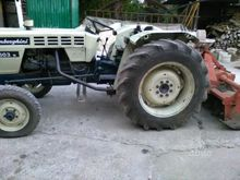 Tractor with cutter