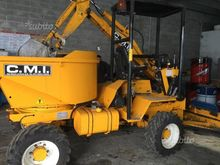 Dumper cmi with blade and excav