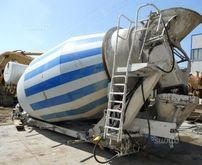 Used concrete mixer