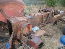 Antique tractor Nuffield DM 4