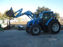 Tractor Landini Ghibli 100 with