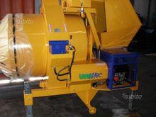 Concrete mixer UNIMEC to revers