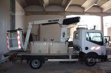 aerial platform truck nissan ca