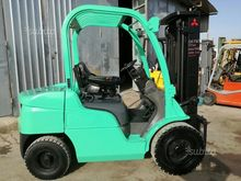 Used Forklift Mitsub