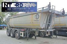 Semitrailer tilting 26m Cargotr
