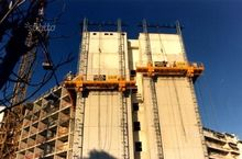 Mast climbing work platforms el